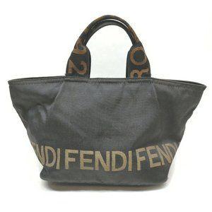 Fendi Vintage 1925 Roma Small Satchel Tote Bag